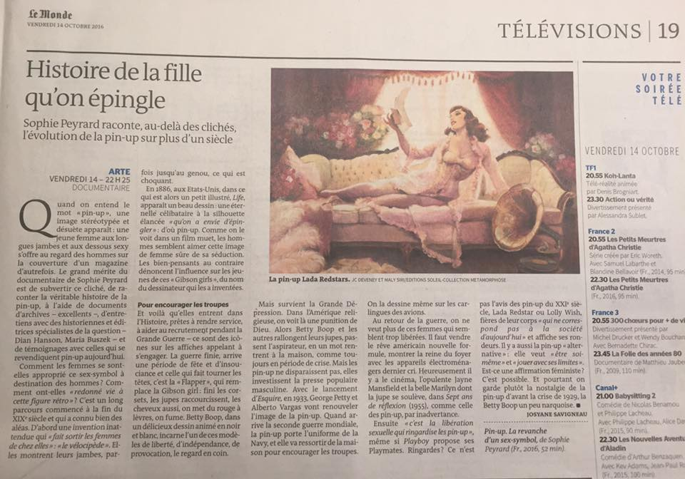Le Monde - 14/10/2016